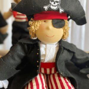 Pelucia Piratas